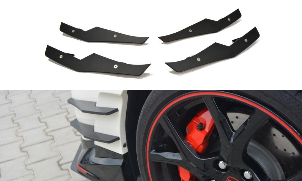 Owiewki Boczne Zderzaka Honda Civic IX Type R - GRUBYGARAGE - Sklep Tuningowy
